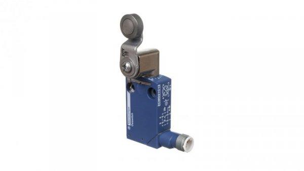 Wyłącznik krańcowy 1R 1Z migowy metal dźwignia obrotowa M12 5-pinowe XCMD2116C12