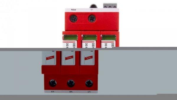 Ogranicznik przepięć C Typ 2 3P 20kA 1,5kV DEHNguard M TNC 275 FM 952305