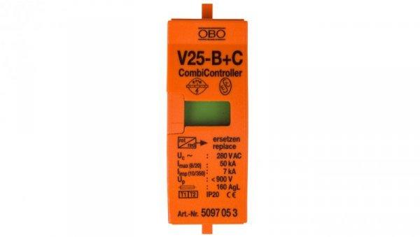 Wkładka ogranicznika przepięć B+C Typ 1+2 7kA V25-B+C Typ 1+2/0-280 5097053