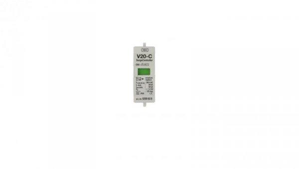 Wkładka ogranicznika przepięć C Typ 2 Typ 2 20kA 1,3kV V20-C/0-280 5099609