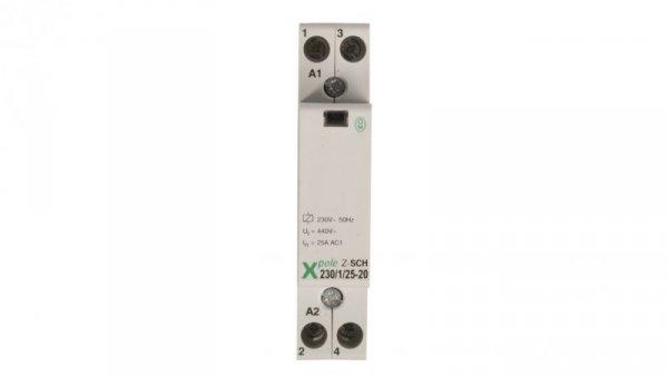 Stycznik modułowy 25A 2Z 0R 230V AC Z-SCH230/1/25-20 120853