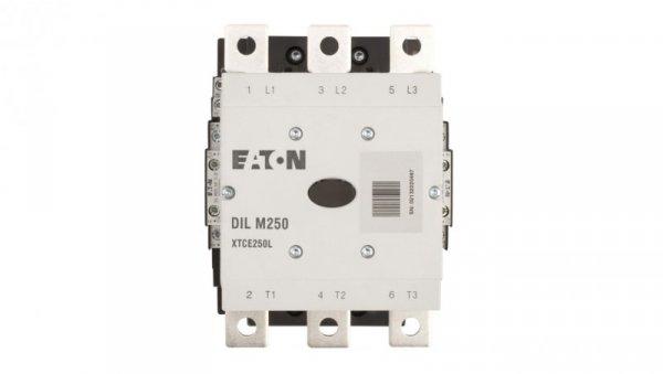 Stycznik mocy 250A 3P 110-250V 110-250V AC/DC 2Z 2R DILM250/22(RA250) 208201