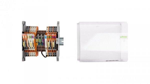 Listwa pomiarowa LPW 16-torowa 230V AC szeregowa 847-436/230-1001