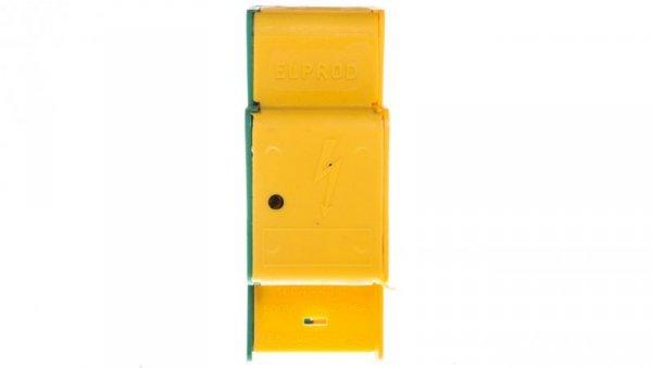 Blok rozdzielczy modułowy 1-biegunowy 160A żółto-zielony LBR160A/13ż-z 84321009