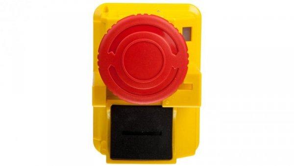 Przycisk bezpieczeństwa do obudów czerwony przez obrót GV2K031