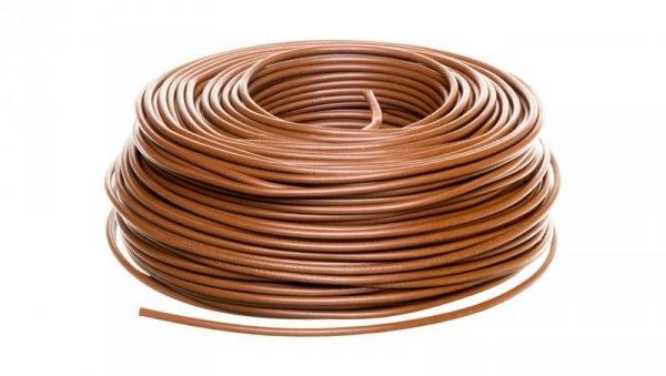 Przewód instalacyjny H07V-K 4 brązowy 4520033  /100m/