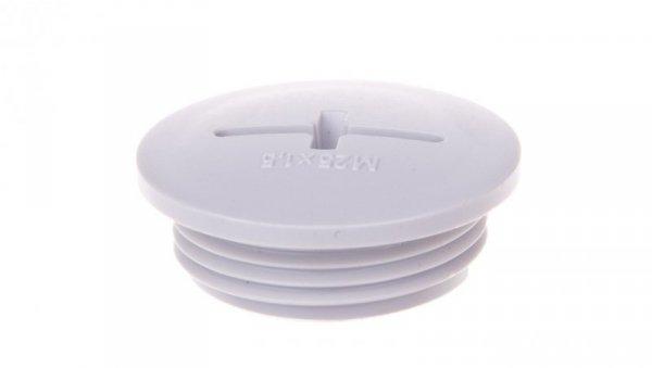 Zaślepka poliestrowa M25 SKINDICHT BLK-M 25x1,5 jasnoszara 52006630 /100szt./