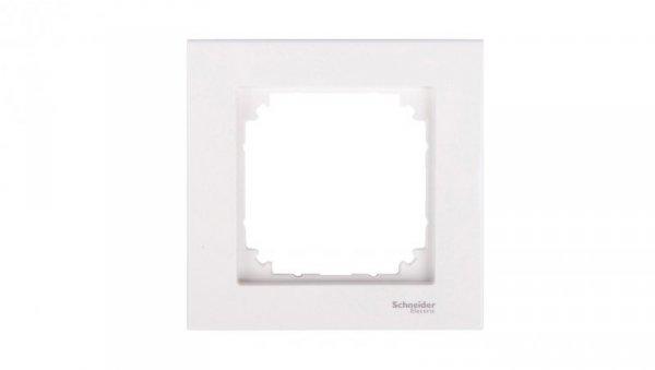 Merten M-Plan Ramka pojedyncza biel polarna MTN515119
