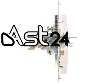 Simon 54 Gniazdo antenowe TV końcowe kremowe DAK1.01/41