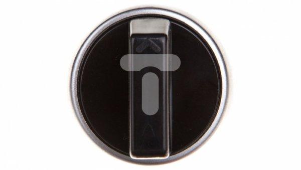 Przycisk sterowniczy 22mm czarny 2Z bez samopowrotu SP22-P.CZ-20.