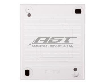 Simon Aquarius Łącznik hermetyczny schodowy podwójny IP54 z podświetleniem biały AQW6/2L/11