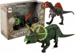 Zestaw figurek Dinozaur Spinosaurus, Triceratops