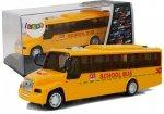 Szkolny Autobus z Naciągiem Światłami i Dźwiękami Otwierane Drzwi