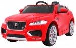 Auto na akumulator Jaguar F-Pace Czerwony