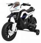 Motor na akumulator dla dzieci Night Rider Biały