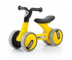Jeździk rowerek biegowy Tobi Black-Yellow Milly Mally