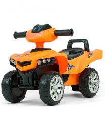 Jeździk pchacz Monster Orange Milly Mally