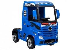 Auto Ciężarówka Tir na Akumulator Mercedes Actros Niebieski