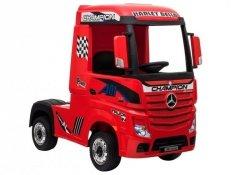 Auto Ciężarówka Tir na Akumulator Mercedes Actros Czerwone Lakier