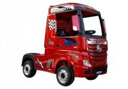 Auto Ciężarówka Tir na Akumulator Mercedes Actros Czerwony Lakierowany MP4