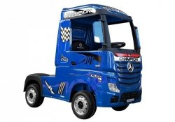 Auto Ciężarówka Tir na Akumulator Mercedes Actros Niebieski Lakierowany MP4