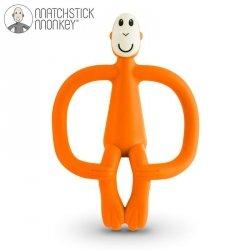 Gryzak Masujący ze Szczoteczką Matchstick Monkey Orange