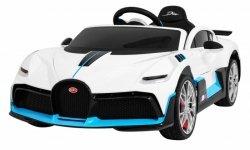 Auto  na akumulator  Bugatti Divo Biały