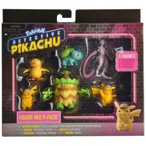 Pokemon Detektyw Pikachu Figurki Multipack