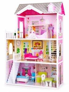 Drewniany domek rezydencja California + lalka gratis Ecotoys