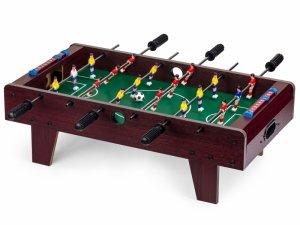 Piłkarzyki drewniany stół do gry 69x36 cm Ecotoys