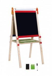 Drewniana dwustronna tablica do rysowania - duża Viga 50952