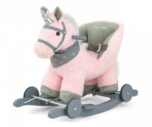 Konik na biegunach Polly Pink Milly Mally