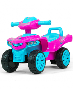 Jeździk pchacz Monster Pink Milly Mally
