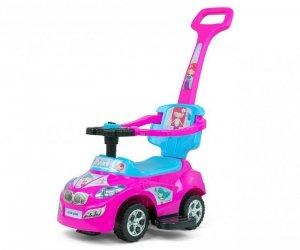 Jeździk 3w1 pchacz Happy Pink-Blue Milly Mally