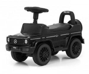 Jeździk pchacz dla dziecka MERCEDES G350d Black S Milly Mally