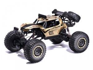 Auto zdalnie sterowane RC Rock Crawler 2.4GHz 1:8 51cm złoty