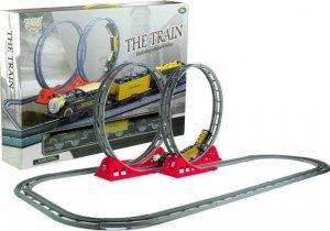 Szybka Kolejka z Wagonami Tory Pętle 136 cm Jeździ
