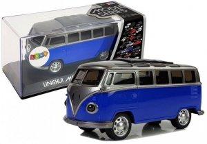 Autobus Resorak  z Naciągiem Niebieski ze światłami i dźwiękiem