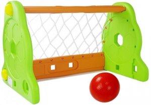 Bramka Piłkarska Dla Dzieci Zielono Pomarańczowa