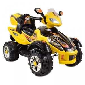 Quad na akumulator dla dzieci 4 biegi, 2 silniki + pilot