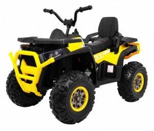 Quad na akumulator ATV Desert Żółty
