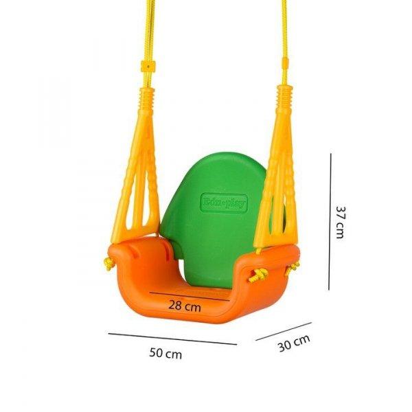 Huśtawka dziecięca ogrodowa domowa dla dzieci 3w1