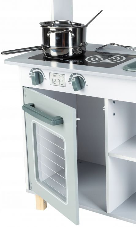 Drewniana kuchenka zestaw akcesoriów  Ecotoys