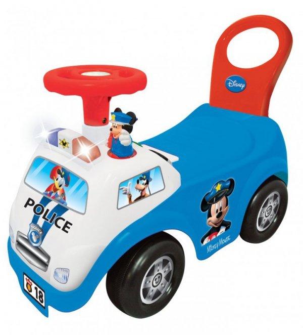 Jeździk pchacz Myszka Mickey Policja Kiddieland