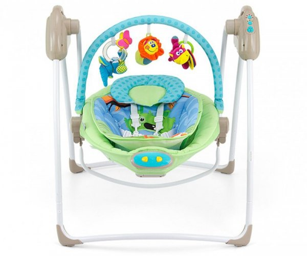 Huśtawka 2w1 Sweet Dreams Blue/Green Milly Mally