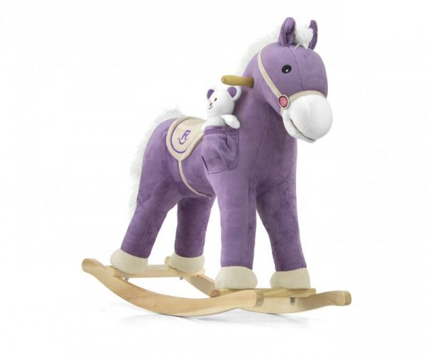 Konik na biegunach Pony Purple Milly Mally