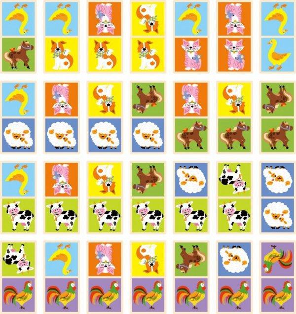 Gra domino - farma Viga