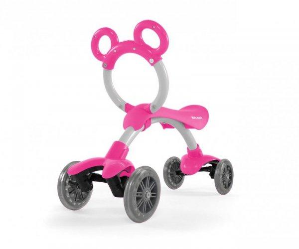 Rowerek biegowy jeździk  Orion Flash Pink Milly Mally