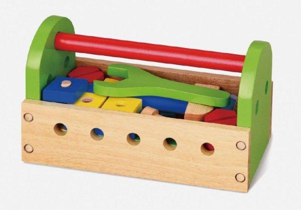 Drewniana skrzynka z narzędziami Viga