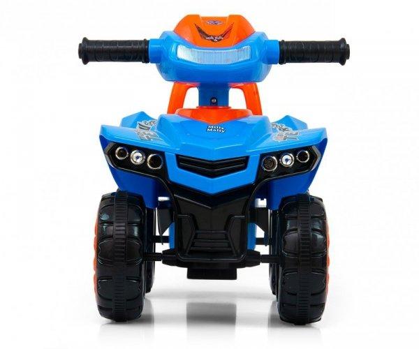 Jeździk pchacz Monster Blue Milly Mally
